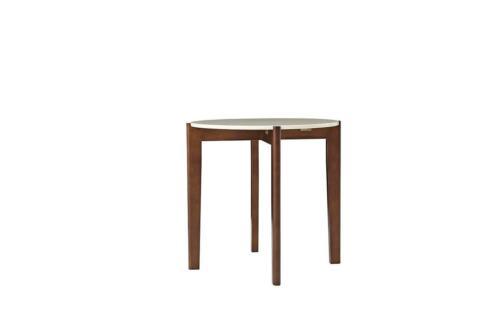 Design Bois Table Ronde de Salon D'Appoint Tableaux Jvmoebel Abstrait Neuf