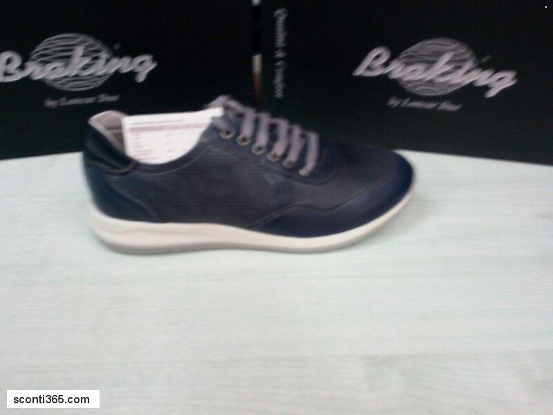 Braking Scarpe c/lacci Sneaker, 6180-762(Avio) Uomo, Braking - Art. 6180-762(Avio) Sneaker, e 760(Cuoio) 804a1e