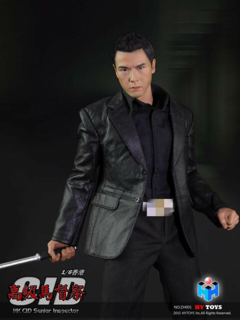 HY TOYS 1//6 Hong Kong CID Senior inspector Ma Sir Donnie Yen Action Toy INSTOCK