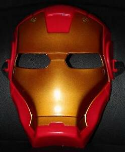 Ironman-Mask-Lifelike-Look-amp-Colour-Great-Item-For-Kids-Great-Super-Hero