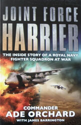 1 of 1 - Joint Force Harrier - Commander Ade Orchard, James Barrington - Large Paperback
