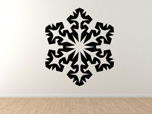 Snowflake-Pattern-4-Winter-Art-Christmas-Decoration-Vinyl-Wall-Decal-Decor