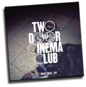 Tourist History Giclee Canvas Album Cover Art Two Door Cinema Club