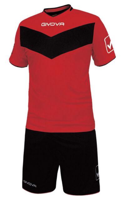 GIVOVA Football Set Jersey With Shorts Vittoria Teamwear Kit 3xs ... eeac276df