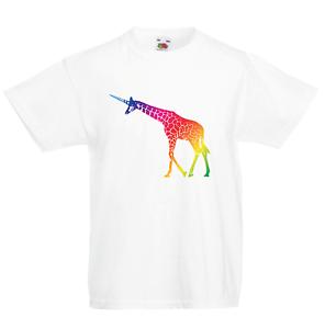 Giraffe Kid/'s T-Shirt Children Boys Girls Unisex Top