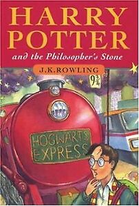Harry-Potter-1-and-the-Philosopher-039-s-Stone-von-Rowling-Buch-Zustand-gut