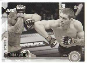 2015-Topps-UFC-Chronicles-Black-and-White-188-183-Jordan-Mein