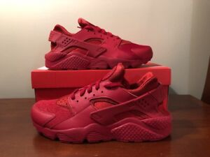 e06dc986a9d Image is loading Nike-Air-Huarache-Triple-Varsity-Red-October-318429-