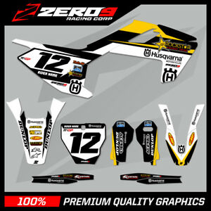 Custom-MX-Graphics-Kit-HUSQVARNA-TE-FE-TC-FC-125-450-ROCKSTAR-GP-BLACK