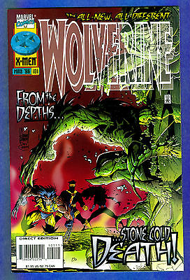 FREE COMBINED SHIPPING 2 VF VF Marvel Comics Wolverine #102 1996 Vol