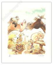 Affiche BD Geerts Jojo Eghezee 100ex signe 40x50 cm