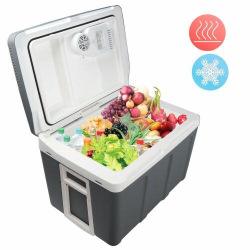 45L Kühlbox 12V 230V Mini-Kühlschrank Thermoelektrische Warmhaltebox Thermokorb