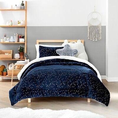 Ugg Milo 2 Piece Reversible Comforter Set Navy Size Twin Ebay