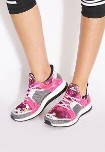 adidas femmes Blanc formation floral pureboost x tr Blanc femmes  rose chaussures fa1d41