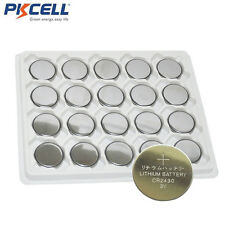 20x PKCELL 2430 CR2430 DL2430 ECR2430 3V Lithium Button Cell Battery For Watch