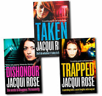 Jacqui Rose 3 Books Collection Set Ages 9-12 Dishonour Paperback English