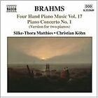 Brahms: Four Hand Piano Music, Vol. 17 (2006)