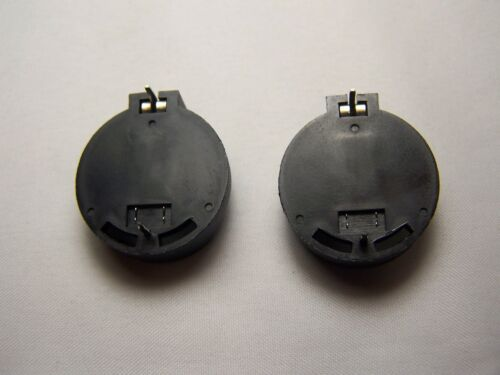 CR2016,CR2025 /& CR2032 Battery Holder 3v 2pcs. Thru-Hole Button Coin Cell