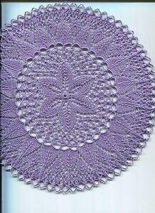 Appris Déco Plafond Napperons Tricot Napperons Art Du Tricot Tricoter Artisanat Décoration-afficher Le Titre D'origine Excellente Qualité