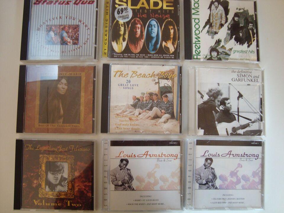 47 CD'er af mange forskellige: kunstnere, andet