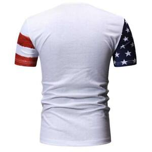 Men-039-s-summer-short-sleeve-muscle-tee-casual-o-neck-t-shirt-t-shirts-slim-fit