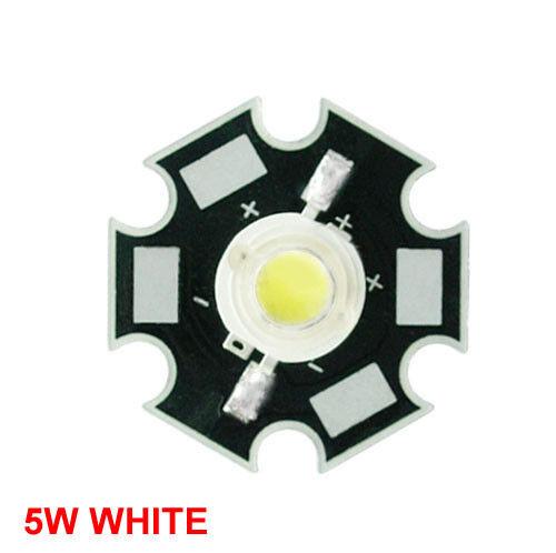 20pcs 1W 3W 5W Red Green Royal Blue Yellow Orange Cyan Warm White High Power LED