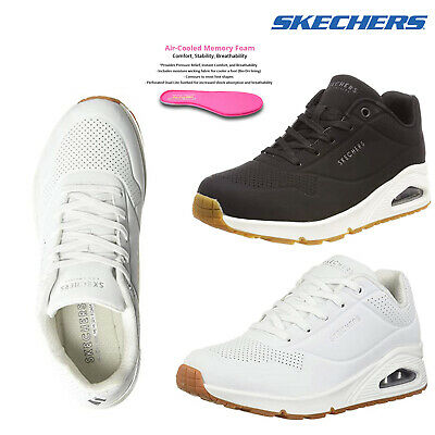 Air Bubble Memory Foam Trainers Lace Up