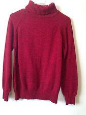 Karen Scott Long-sleeve 100 Cotton Turtleneck Sweater Purple Size ...