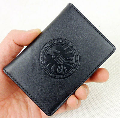 Official Marvel Agents of S.H.I.E.L.D. Agent Badge ID Coulson Wallet Holder Case