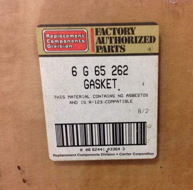 Carrier Gasket Set 6 G 65 262