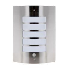19096 medlock pir bulkhead wall light ip44 ebay stainless steel outdoor flush pir motion sensor security bulkhead wall light mozeypictures Choice Image