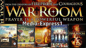 5-Pk-Fireproof-Facing-The-Giants-WAR-ROOM-Flywheel-Courageous-NEW-FAST-SHIPPING