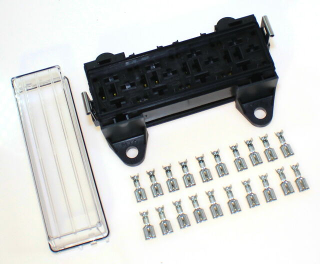 4 fach Sockel f Kfz - Relais Relaissockel Relaisbox Auto Fahrzeug Pkw Lkw Kasten
