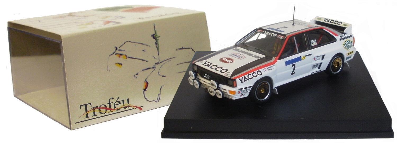 Trofeu 1618 Audi Quattro TOUR AUTO 1984-B Darniche scala 1/43