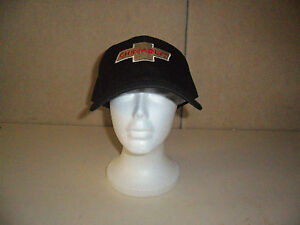 NEW-CHEVROLET-HAT-BLACK-WITH-RED-PRINT-FREE-SHIPPING