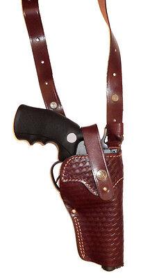 Shoulder leather holster for Revolver//Flobert//Nagant
