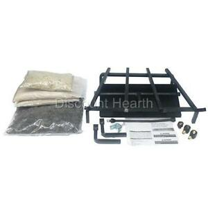 18 Quot 24 Quot 30 Quot 36 Quot Hd Hearth Kit For Gas Logs Fireplace