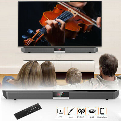 Sound bar Wireless Bluetooth Speaker Super Bass Stereo Home TV Subwoofer System
