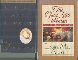 Christmas Inheritance 2.Details About Quiet Little Woman Christmas Inheritance Lot Of 2 By Louisa May Alcott Hb Dj