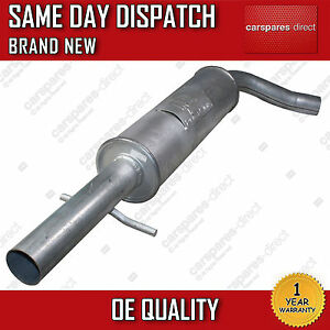 Brand New! Replacement Exhaust Centre Middle Silencer 2 Year Warranty
