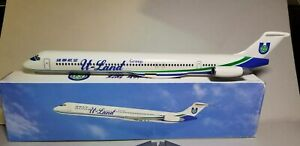 FLIGHT-MINATURES-U-LAND-GROUP-THAILAND-MD-88-1-130-SCALE-PLASTIC-SNAPFIT-MODEL
