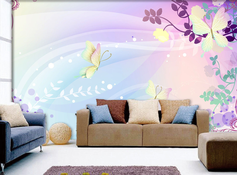 3D Blaumen, Vögel 787 Fototapeten Wandbild Fototapete Bild Bild Bild Tapete Familie Kinder   Outlet Online    Online einkaufen    Langfristiger Ruf  4aecf8