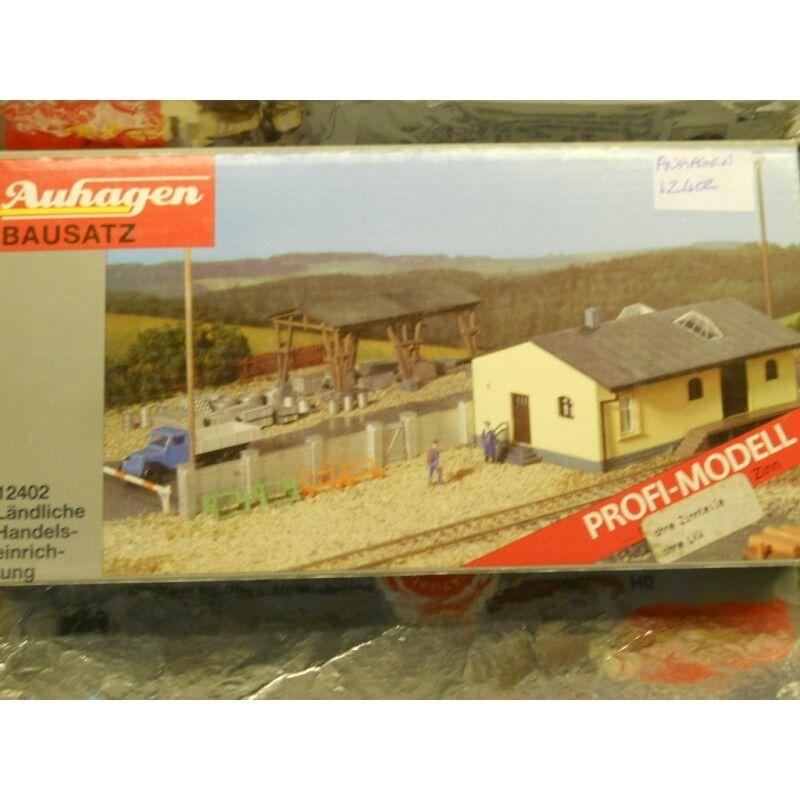 Auhagen 12402  Rural Building Material Distribution Centre Kit  H0 Scale