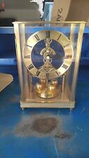 Bulova 400 day Skelett Quartz German Made Mantle Clock NOS
