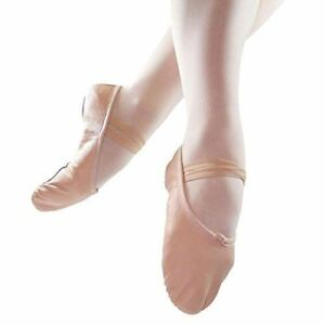 Danzcue-Child-Split-Sole-Leather-Ballet-Slipper