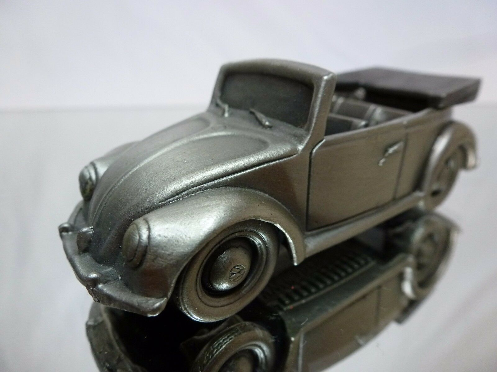 TIN METAL GERMANY VW VOLKSWAGEN BEETLE CABRIOLET 1949 - 1 43 - GOOD CONDITION