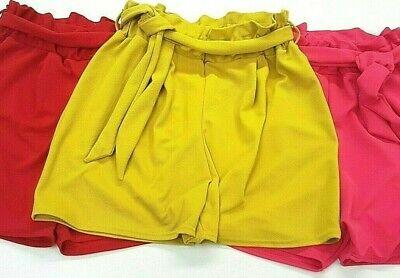 ** 2019 Colori Estivo Plus & Curva Sacchetto Di Carta Crepe Paperbag Short Made In Uk **-mostra Il Titolo Originale
