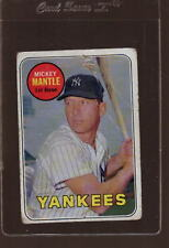 1969 TOPPS #500 MICKEY MANTLE *912024