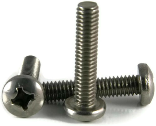 Stainless Metric Machine Screw Pan Head 25-M4x.7x60M