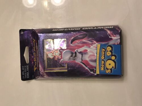 XY Evolutions Pokemon TCG 60-Card Theme Deck Featuring Mewtwo Mayhem